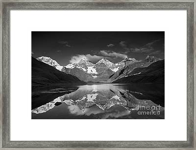 Peruvian Andes Framed Print by Howie Garber