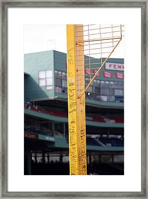 Pesky's Pole Framed Print by Greg DeBeck