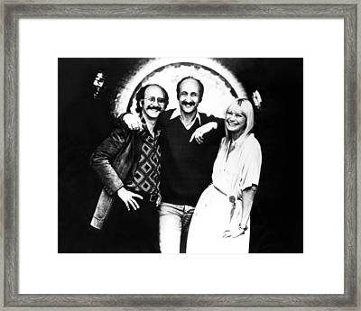 Peter Paul And Mary, Peter Yarrow, Paul Framed Print by Everett