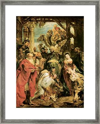 Peter Paul Rubens Framed Print by The Adoration of the Magi