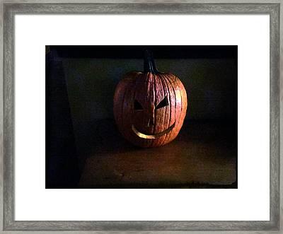 Peter Peter Pumpkin Eater Framed Print by Michael L Kimble