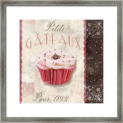 Petits Gateaux Framed Print by Mindy Sommers