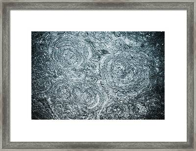Petrified Sea Floor Framed Print by Ryan Kelly