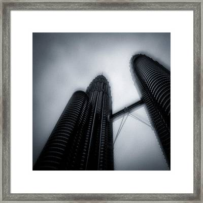 Petronas Towers Framed Print by Dave Bowman