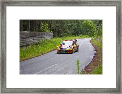 Petter Solberg/chris Patterson Framed Print by Boyan Dimitrov