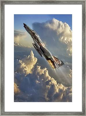 Phantom Cloud Break Framed Print by Peter Chilelli