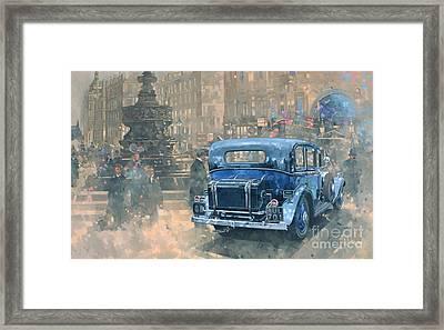 Phantom In Piccadilly  Framed Print by Peter Miller