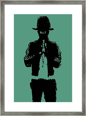 Pharrell Williams 2 Framed Print by Brian Reaves