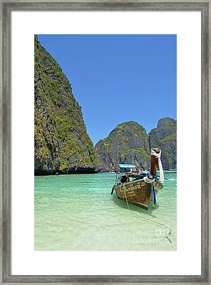 Phi Phi Islands 3 Framed Print by Eva Kaufman