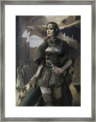Phial Framed Print by Eve Ventrue