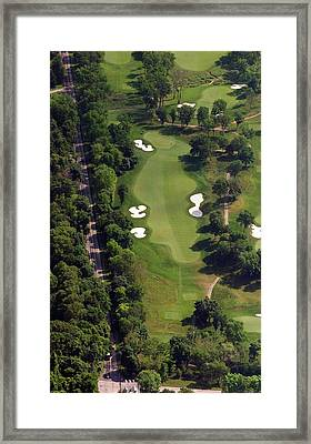 Philadelphia Cricket Club Militia Hill Golf Course 12th Hole Framed Print by Duncan Pearson