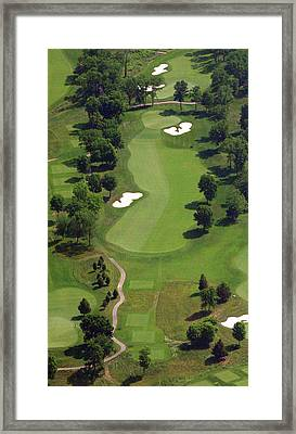 Philadelphia Cricket Club Militia Hill Golf Course 16th Hole 2 Framed Print by Duncan Pearson