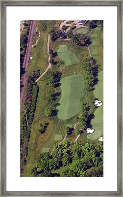 Philadelphia Cricket Club Militia Hill Golf Course 2nd Hole Framed Print by Duncan Pearson