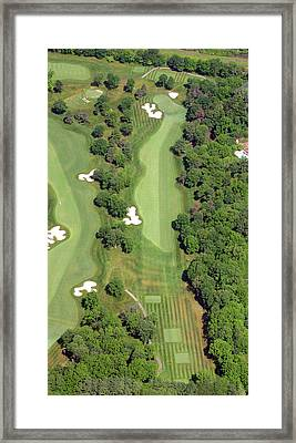 Philadelphia Cricket Club Militia Hill Golf Course 7th Hole Framed Print by Duncan Pearson