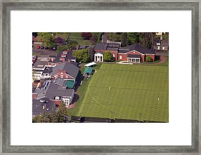 Philadelphia Cricket Club Squash Framed Print by Duncan Pearson