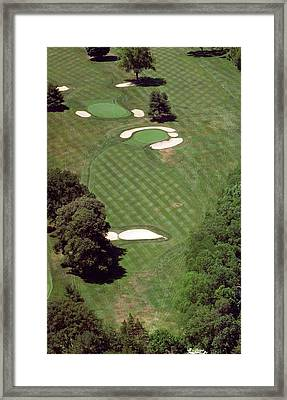 Philadelphia Cricket Club St Martins Golf Course 2nd Hole 415 W Willow Grove Ave Phila Pa 19118 Framed Print by Duncan Pearson