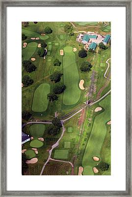 Philadelphia Cricket Club Wissahickon Golf Course 11th Hole Framed Print by Duncan Pearson