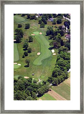 Philadelphia Cricket Club Wissahickon Golf Course 16th Hole Framed Print by Duncan Pearson