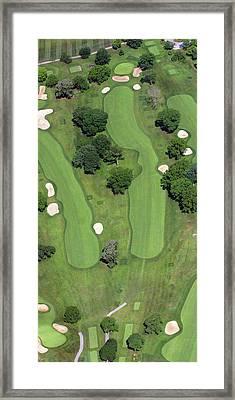 Philadelphia Cricket Club Wissahickon Golf Course 4th Hole Framed Print by Duncan Pearson