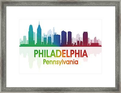 Philadelphia Pa Framed Print by Angelina Vick
