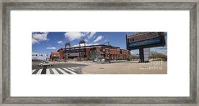 Philadelphia Phillies' Citizens Bank Park - Panoramic Framed Print by Anthony Totah