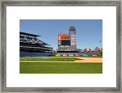 Philadelphia Phillies Stadium  Framed Print by Brynn Ditsche