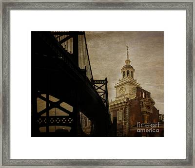 Philadelphia Framed Print by Tom Gari Gallery-Three-Photography
