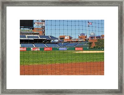 Phillies Framed Print by Brynn Ditsche
