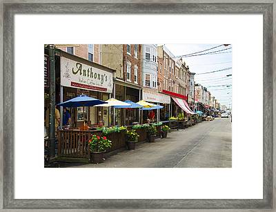 Philly's Italian Market Framed Print by Bill Cannon