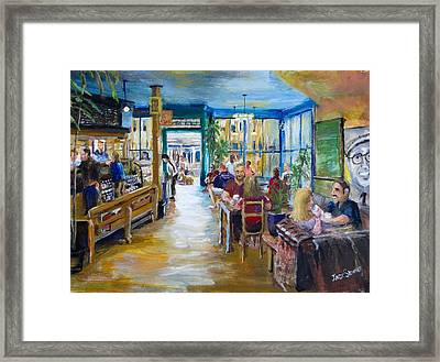 Philz Coffee San Francisco Framed Print by Jack Skinner
