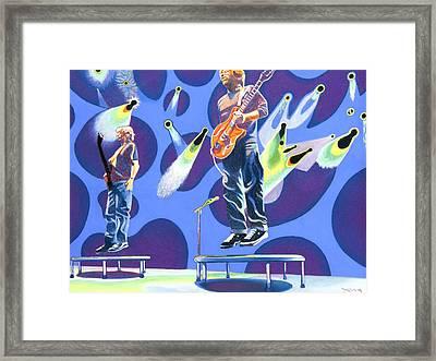 Phish Tramps Framed Print by Joshua Morton