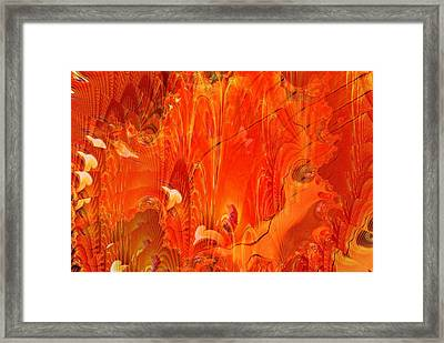 Phoenix Framed Print by Don  Wright