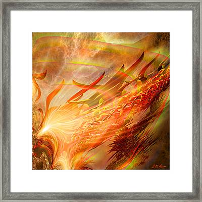 Phoenix Framed Print by Michael Durst