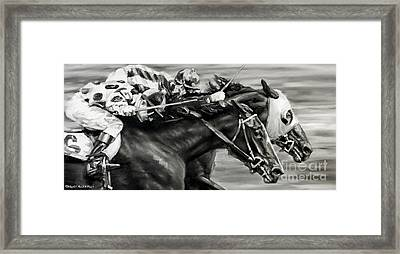 Photo Finish Framed Print by Thomas Allen Pauly
