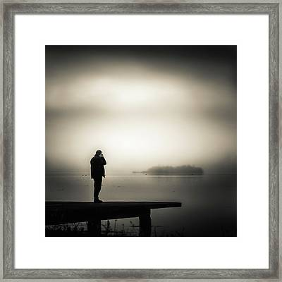 Photographer Framed Print by Silvijo Selman