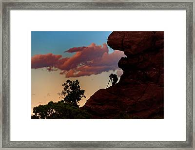 Photographing The Landscape Framed Print by Rick Berk