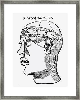 Phrenology Framed Print by French School