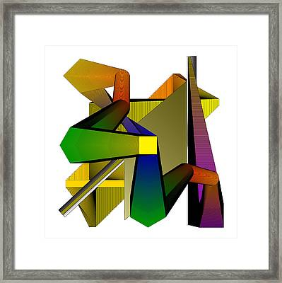 Physically Challenged Framed Print by Yasar Aleem