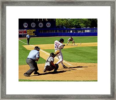 Piazza '98 Framed Print by Steven Sachs