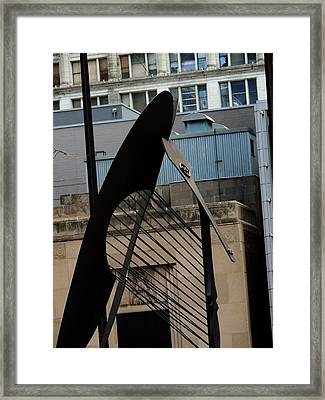 Picasso/chicago Framed Print by Todd Sherlock