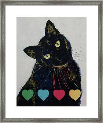Pick Your Poison Framed Print by Michael Creese