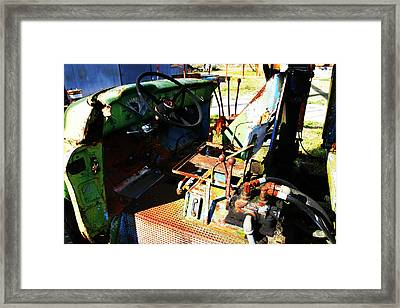 Picker Truck Framed Print by Marcus Adkins