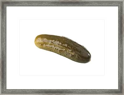 Pickle Framed Print by Michael Ledray