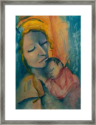 Picture Of Love Framed Print by Mary DuCharme