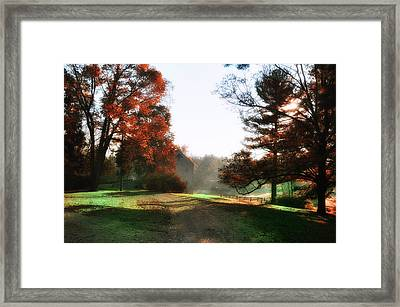 Picture Perfect Morning Framed Print by Bill Cannon