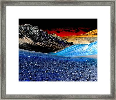 Pictures From Venus Framed Print by Rebecca Margraf