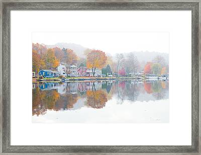 Picturesque Autumn Framed Print by Karol Livote