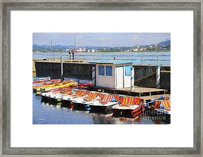Picturesque Framed Print by Jutta Maria Pusl