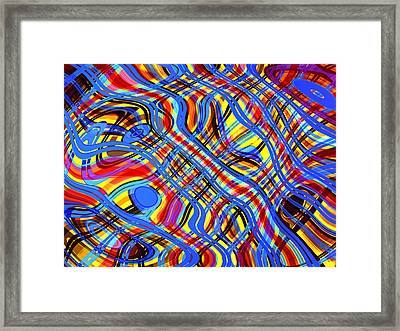 Piece In C Sharp Major Framed Print by Andreas Thust