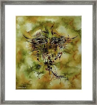 Piece With Spirit Framed Print by Carmen Fine Art